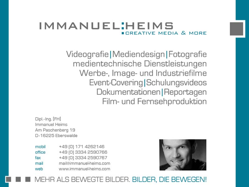 Immanuel Heims - creative media & more